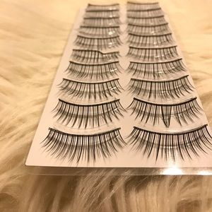 Other - False Eyelashes - 10 pairs